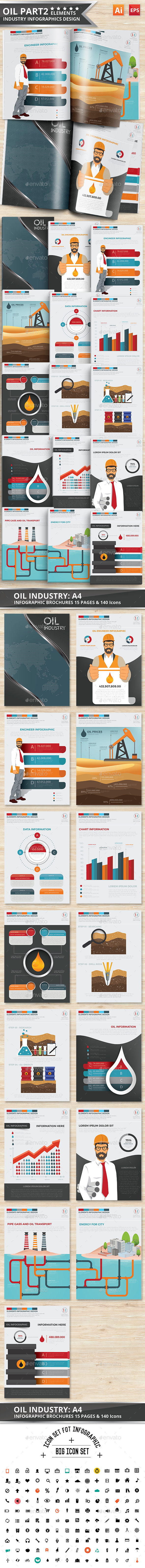 Oil Infographics Design Part 2 - Infographics