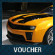 Car Dealer & Auto Services Commerce Discount Voucher - GraphicRiver Item for Sale