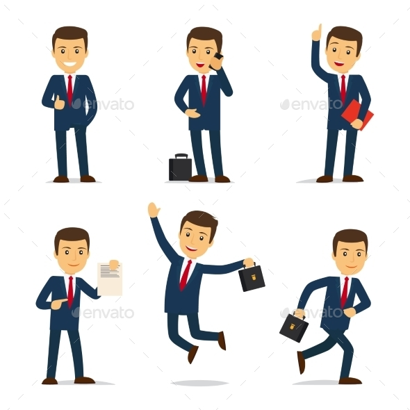 Lawyer Or Attorney Cartoon Character Vector - People Characters