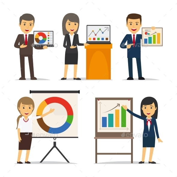 Business Presentation Vector - Concepts Business