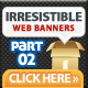 Irresistible Web Banner Templates 02 - GraphicRiver Item for Sale