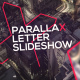 Parallax Letter Slideshow - VideoHive Item for Sale
