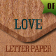 20 Valentine Letter Papers - GraphicRiver Item for Sale