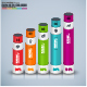 Abstract 3D Business Bar Infographic Elements - GraphicRiver Item for Sale