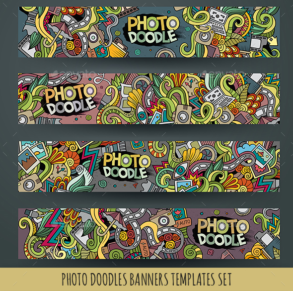 Photo Banners Design Templates - Technology Conceptual
