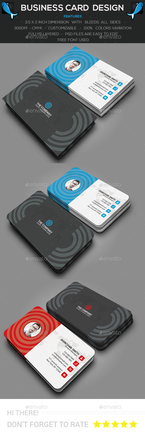 Modern Personal Business Card - Creative Business Cards