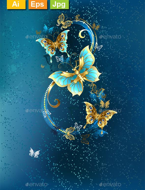 Eight of Luxury Butterflies - Miscellaneous Seasons/Holidays
