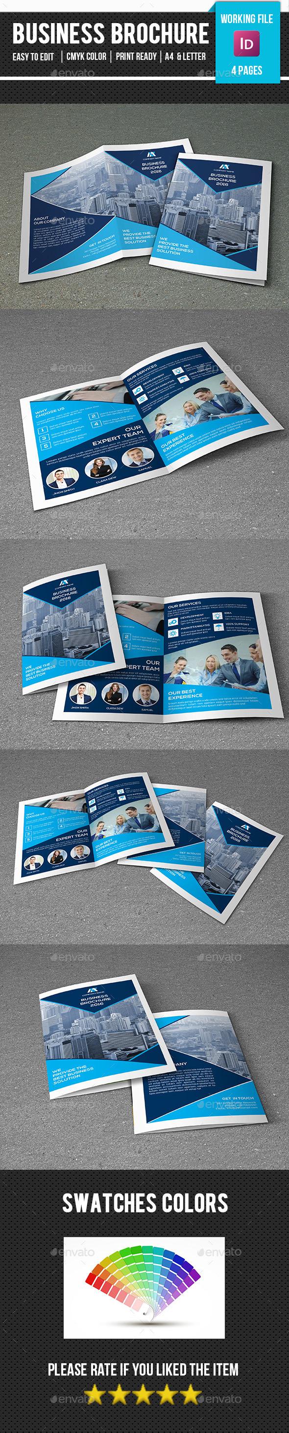 Corporate Brochure Template-V334 - Corporate Brochures