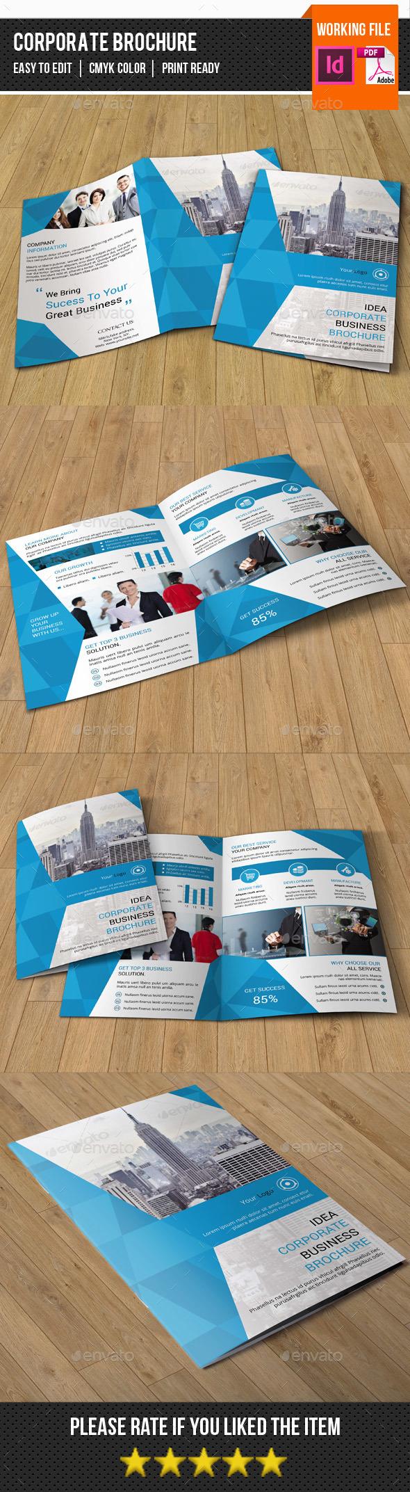 Bifold Business Brochure-V335 - Corporate Brochures