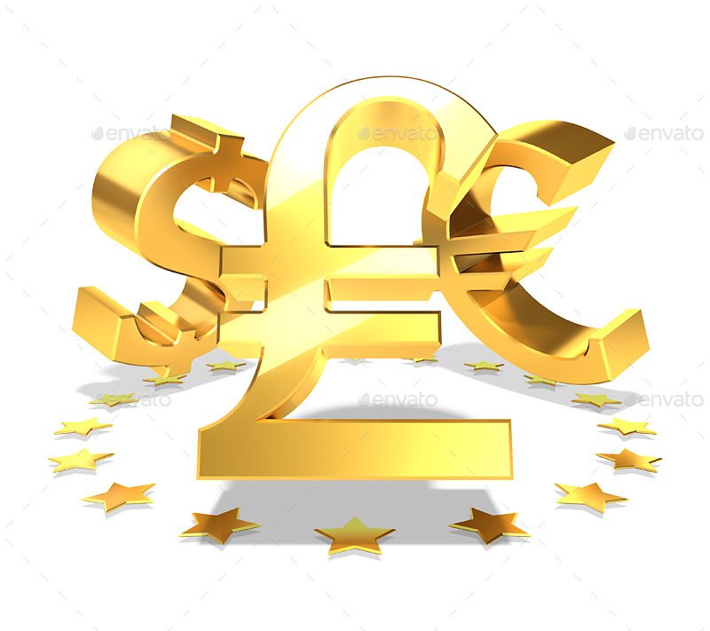 18 Symbols Of World Currencies By Polygraphic Graphicriver