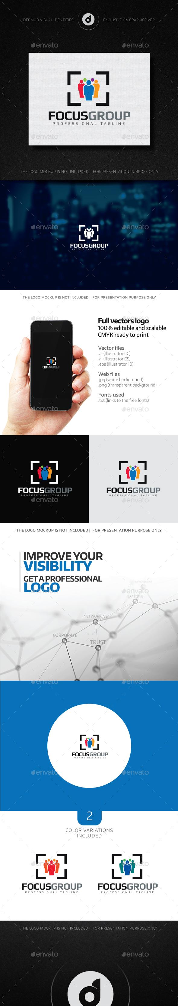 FocusGroup Logo - Humans Logo Templates