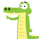 Cute Alligator - GraphicRiver Item for Sale