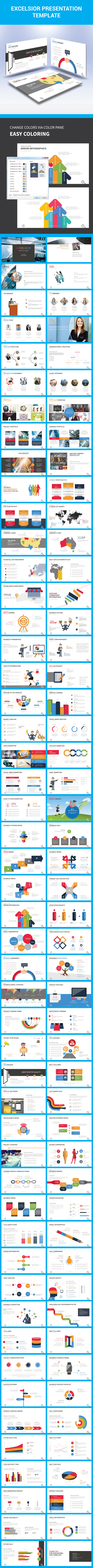 Excelsior Presentation Template - Business PowerPoint Templates