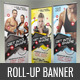 Roll-up Banner Template - Fitness - GraphicRiver Item for Sale