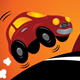 Car driving uphill - GraphicRiver Item for Sale