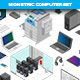 Isometric Computer Set - GraphicRiver Item for Sale
