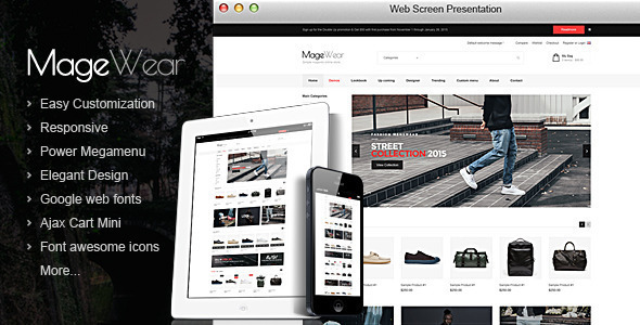 Magewear – Responsive OpenCart Theme