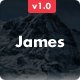 James - Responsive Email + Online Template Builder Nulled