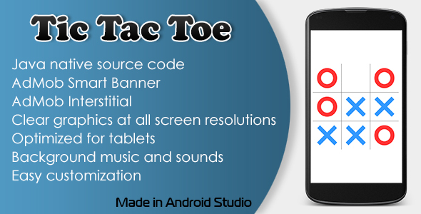 Tic Tac Toe Game with AdMob - CodeCanyon Item for Sale