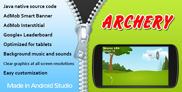 Archery with AdMob and Leaderboard - CodeCanyon Item for Sale