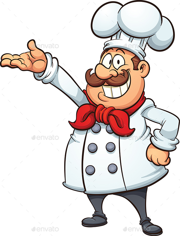 Cartoon Chef - People Characters