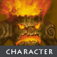 Burning Treant - Character Sprite - GraphicRiver Item for Sale
