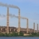 Industrial Stacks Of Coal Power Plant Injecting - VideoHive Item for Sale