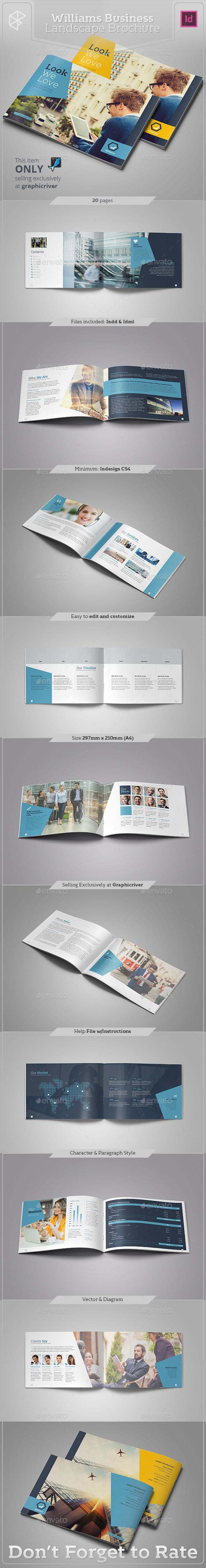Williams Business Landscape Brochure - Corporate Brochures
