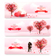 Holiday Valentine Banners. Vector - GraphicRiver Item for Sale
