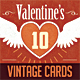 Retro / Vintage Valentine Cards - GraphicRiver Item for Sale