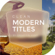 Modern Hinged Slideshow Titles - VideoHive Item for Sale