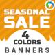 Seasonal Sale Banners