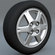 tire rim scene file - 3DOcean Item for Sale