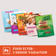 Restaurant Food Flyer - GraphicRiver Item for Sale