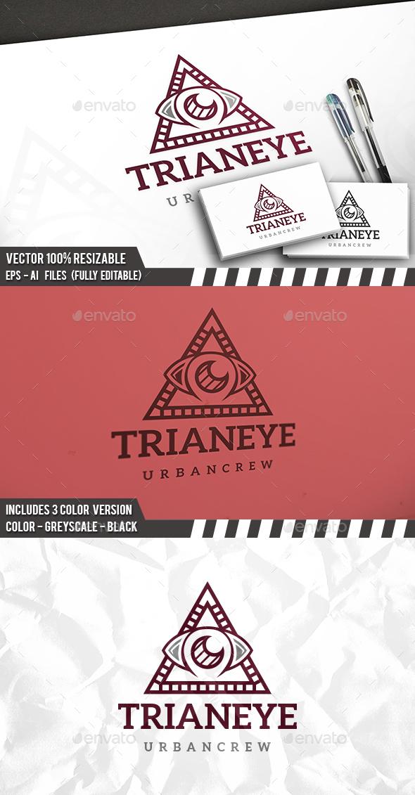 Urban Eye Logo - Objects Logo Templates