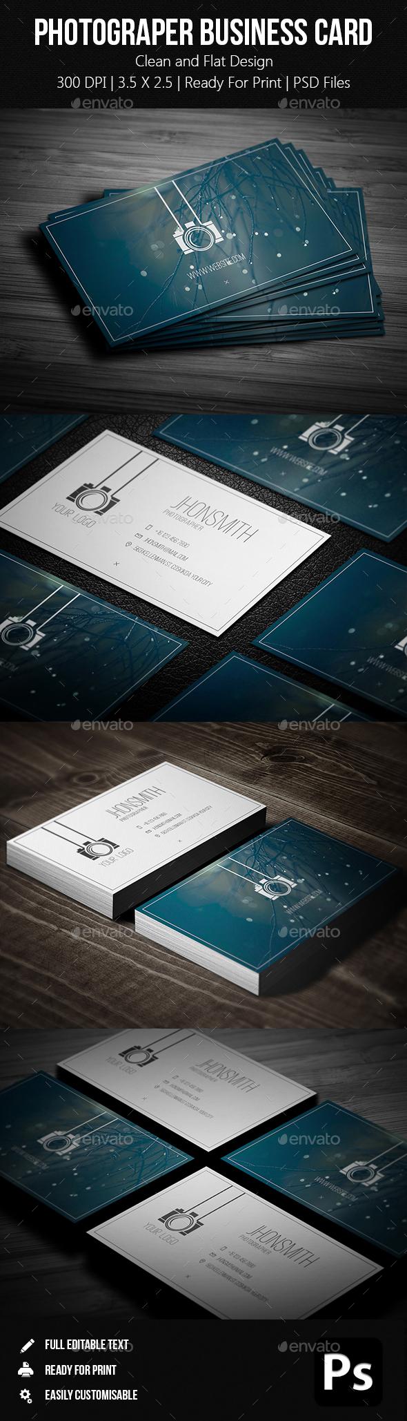 Creative Photgrapher Business Card 05 - Creative Business Cards