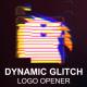 Dynamic Glitch Logo Opener - VideoHive Item for Sale