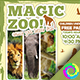 Magic Zoo Flyer Tamplates - GraphicRiver Item for Sale