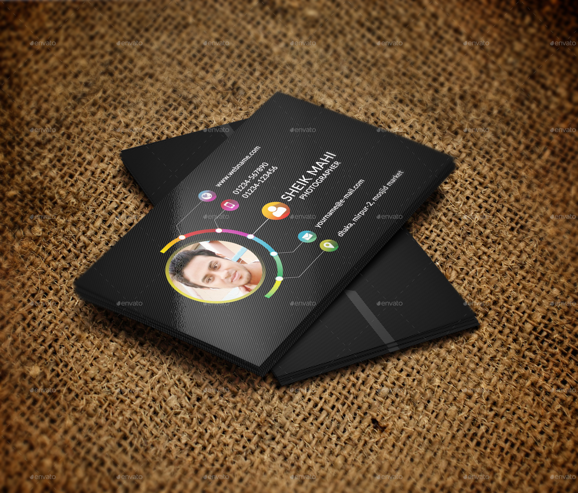 Photographer Business Card -2 by sk_mahi | GraphicRiver