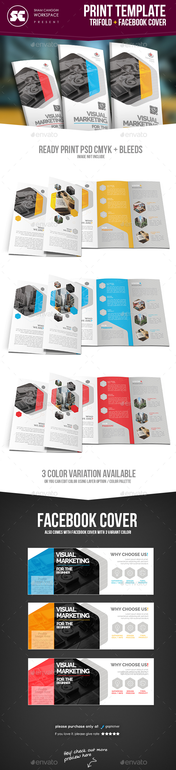Corporate Trifold - Corporate Flyers
