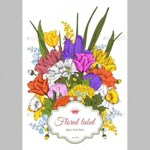 Spring Flowers - Backgrounds Decorative