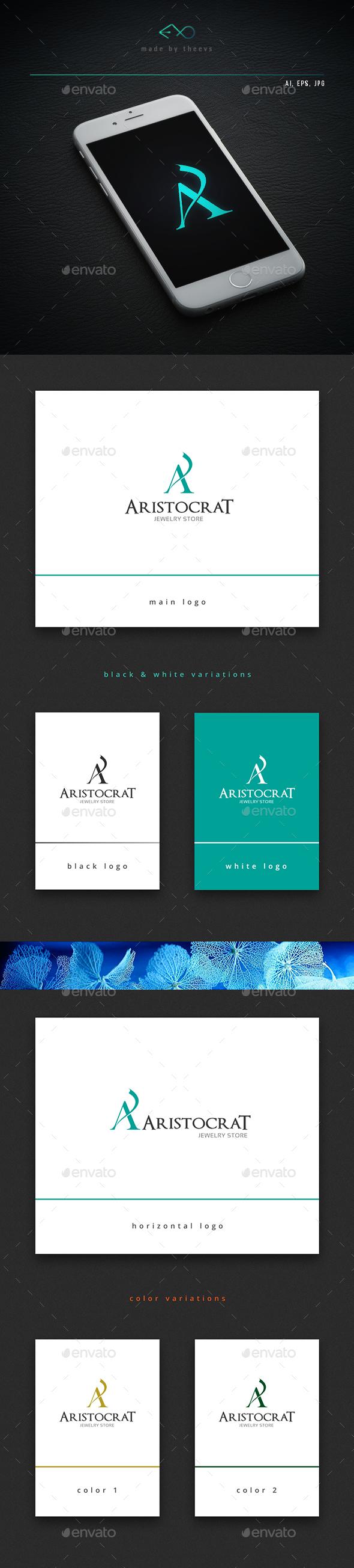 Aristocrat - Letters Logo Templates