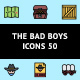 The Bad Boys Icons 50 - GraphicRiver Item for Sale