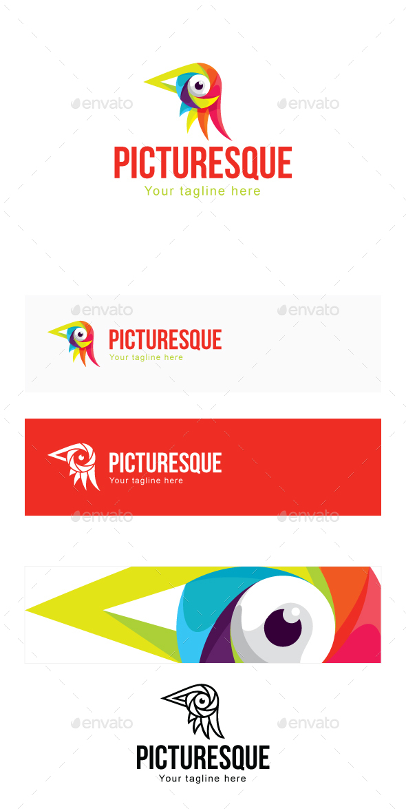 PictureSque Logo Template - Animals Logo Templates