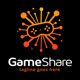 Game Share Logo - GraphicRiver Item for Sale