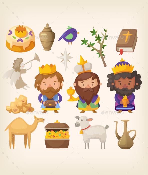 Epiphany Day Elements - Seasons/Holidays Conceptual