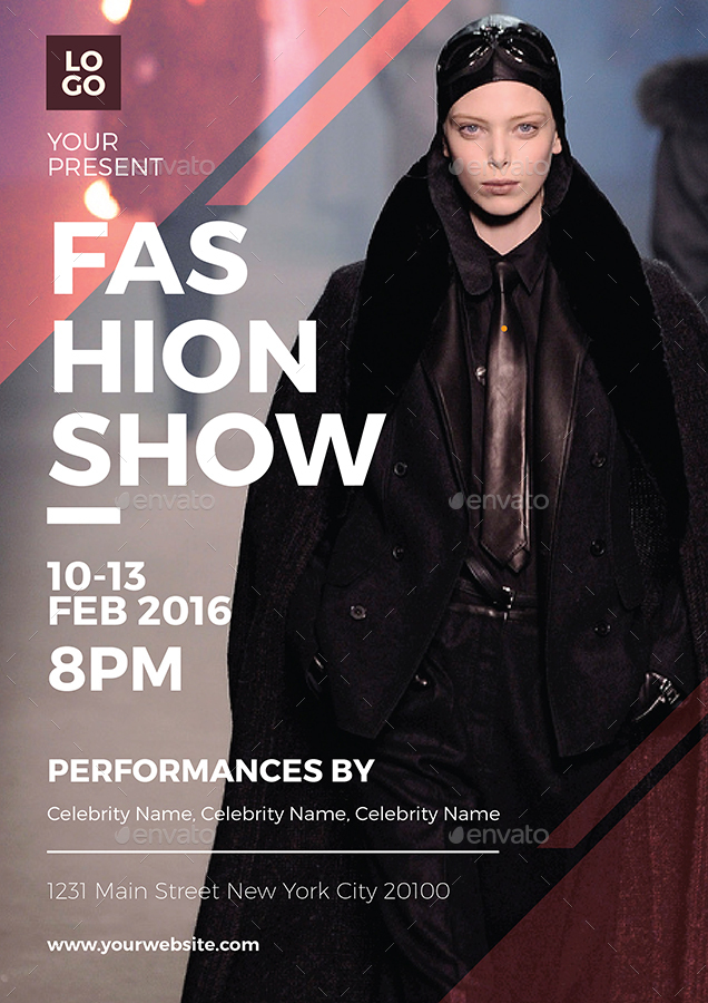 Fashion Show Flyer by vynetta | GraphicRiver