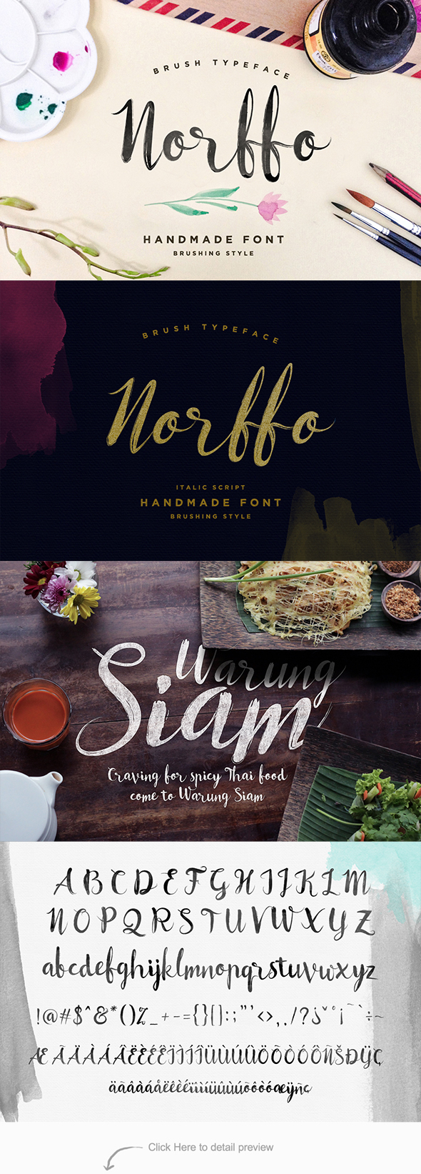 Norffo Font - Hand-writing Script