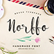 Norffo Font - GraphicRiver Item for Sale