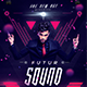 Futur Sound Flyer - GraphicRiver Item for Sale